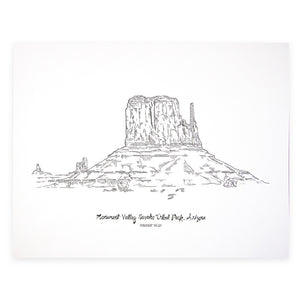 Monument Valley Print