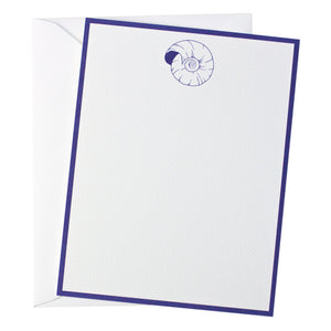 Nantucket Nautilus Note Card