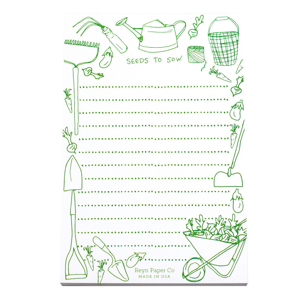 Seeds To Sow Notepad