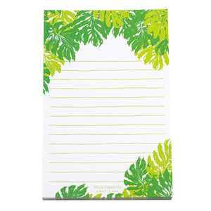 Monstera Deliciosa Notepad