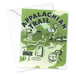 Appalachian Trail Card