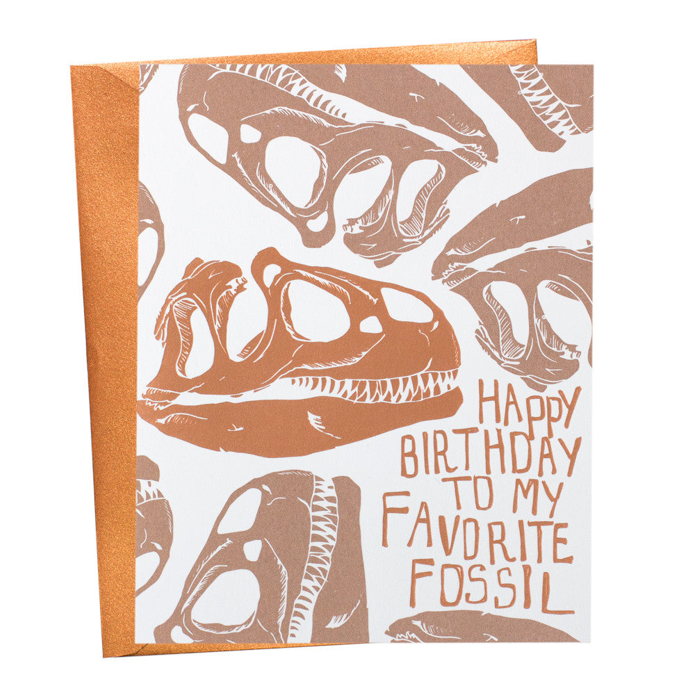 T-Rex Fossil Birthday