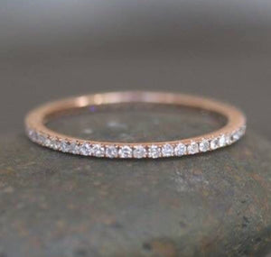 .20 Ct VVS1/D Full Eternity Band in 10K Gold, 14K Gold or Sterling Silver