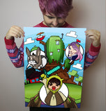 Smallishbeans x SpectreRage CrazyCraft Poster