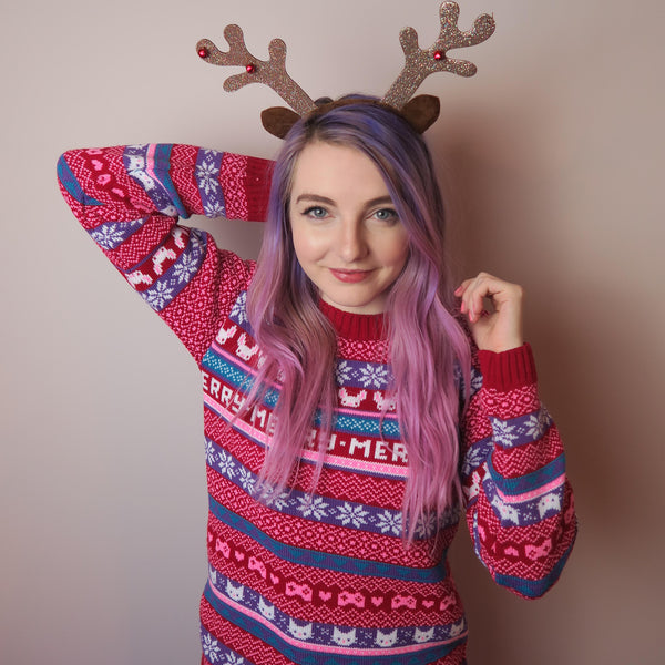 LDShadowLady Ugly Christmas Sweater