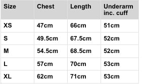 Jumper size conversion