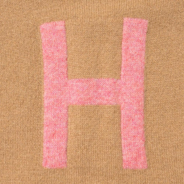Alphabet jumper H knit