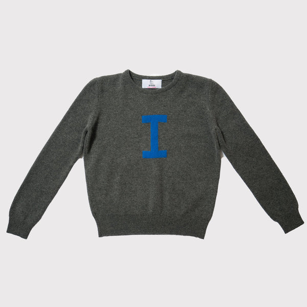 Hades I jumper, 100% wool made in Scotland
