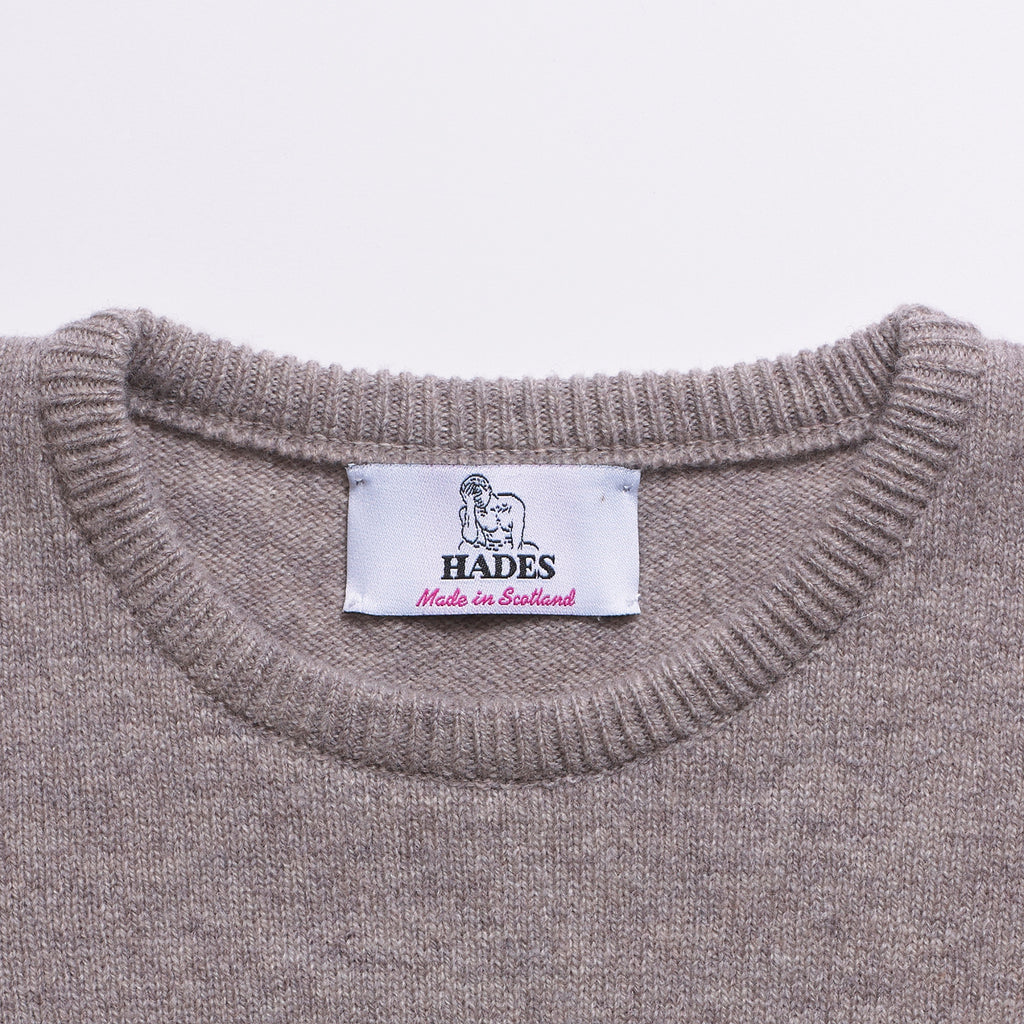 Alphabet V Knit - Oatmeal