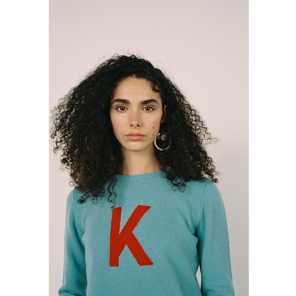 Alphabet jumpers k knit