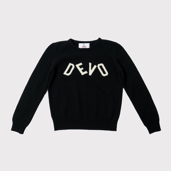 Hades Devo jumper black and white