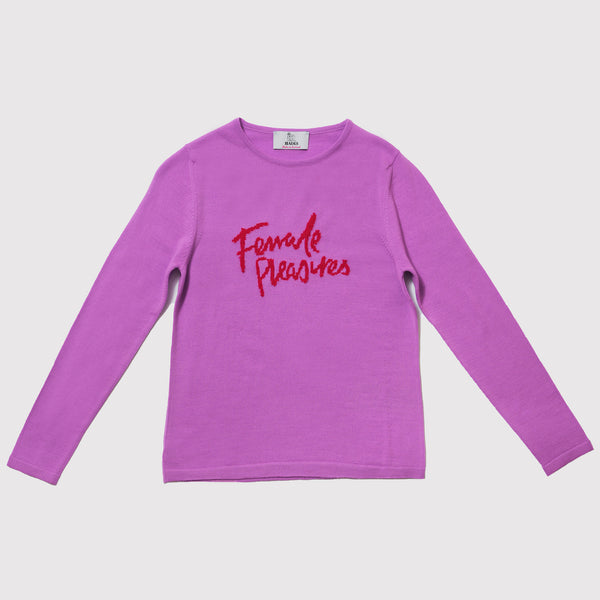 Hades purple Knit Jumper