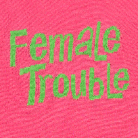 Female Trouble | Fuchsia Pink & Lime