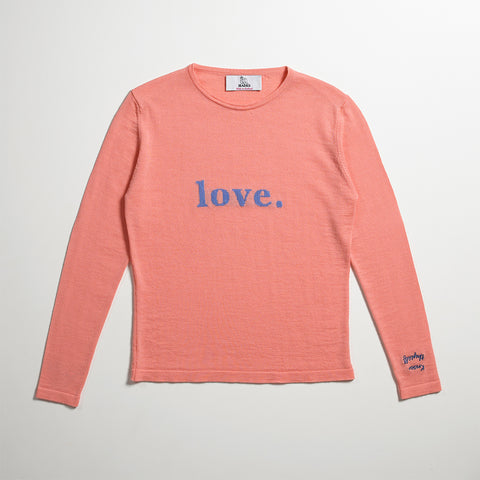 The Dolly Knit - Powder Pink