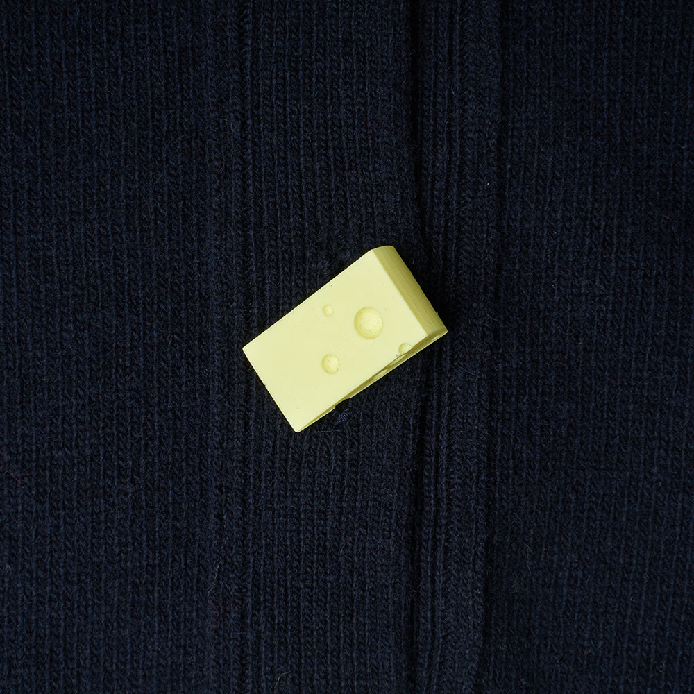 Carrington Cardigan | Navy | Pop Art Snacks
