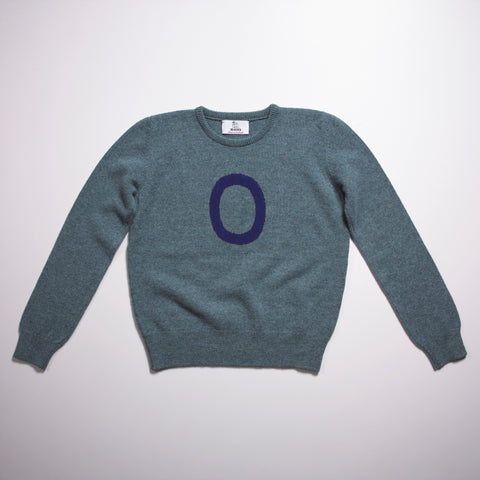 Archive - one off - Alphabet O Knit