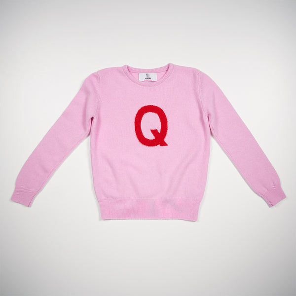 Alphabet Q Knit- SOLD OUT
