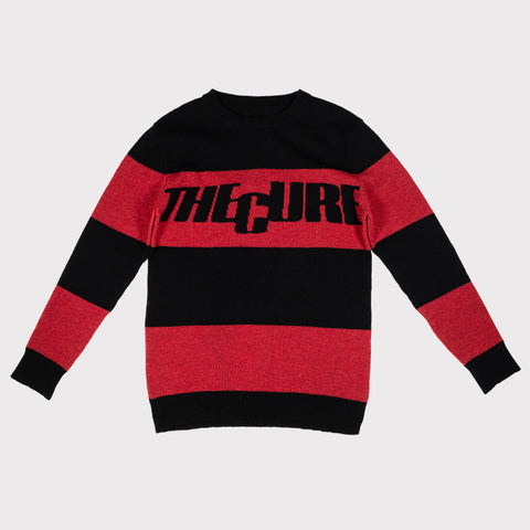 The Cure | Black & Red Striped | Women's