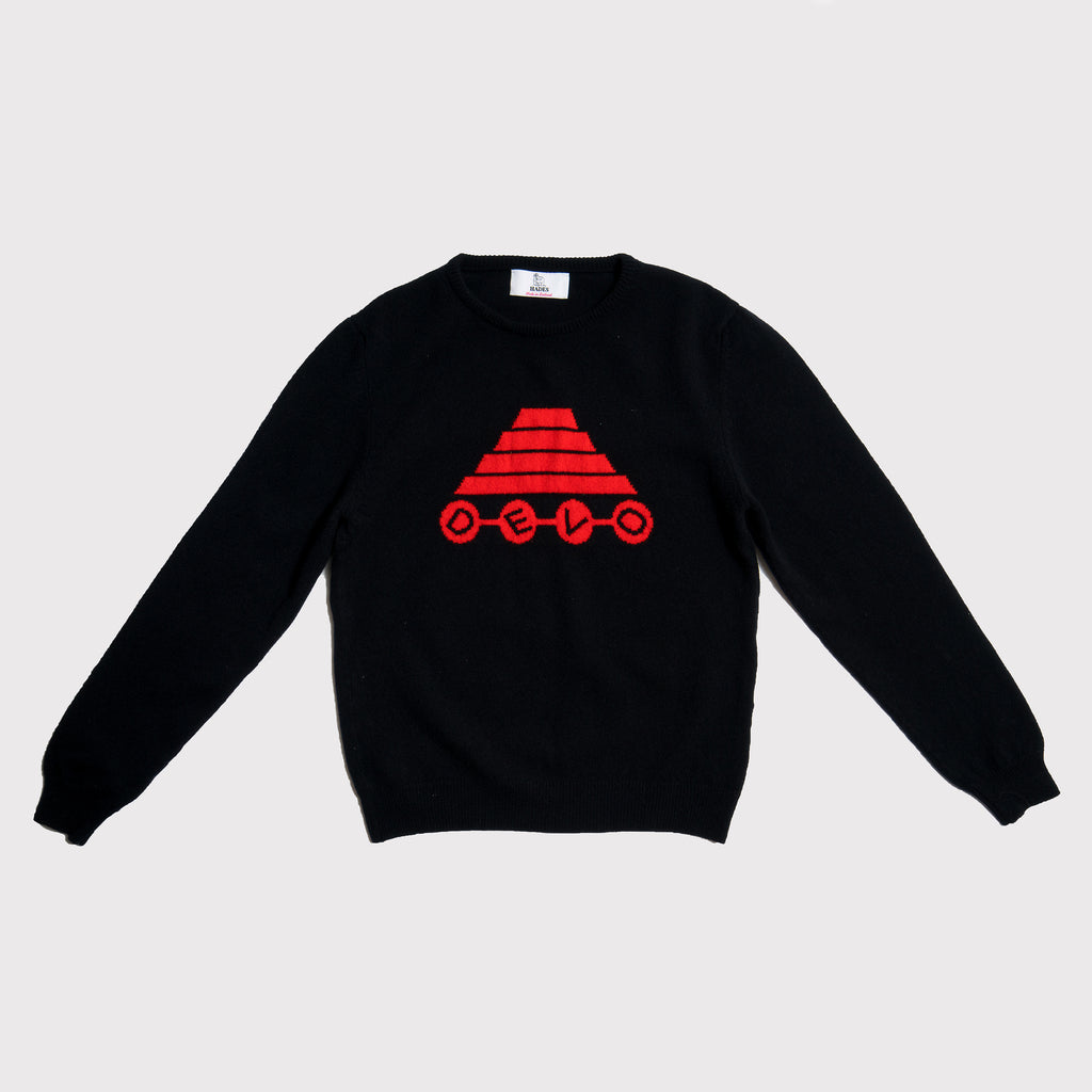 Devo Energy Dome | Navy & Red | Men's