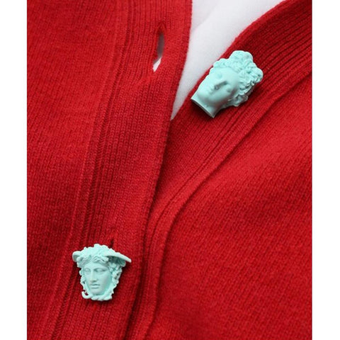 Carrington Cardigan | Red - SOLD OUT