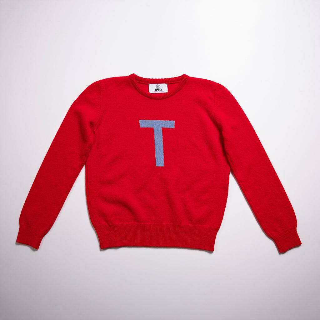 Archive - one off - Alphabet T Knit