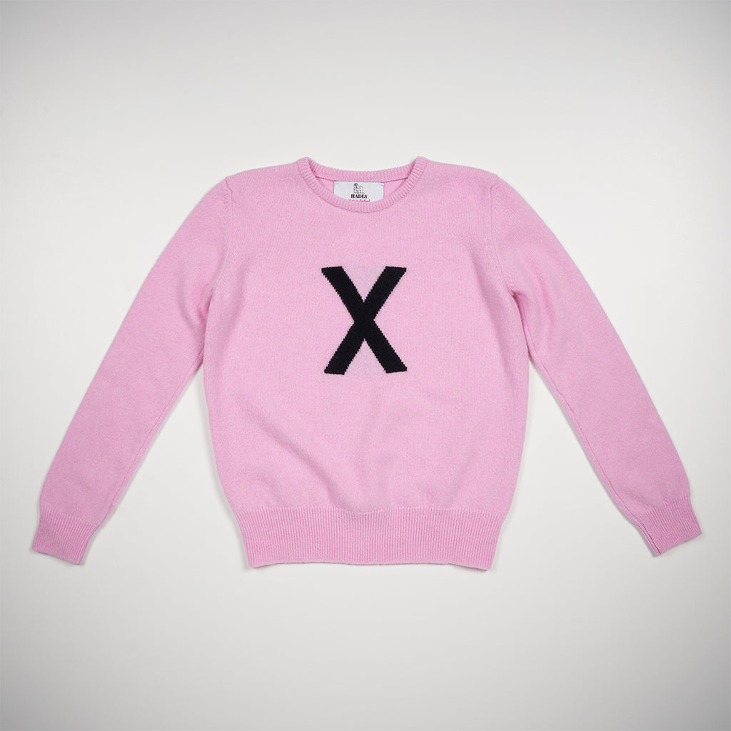 Alphabet X Knit- SOLD OUT