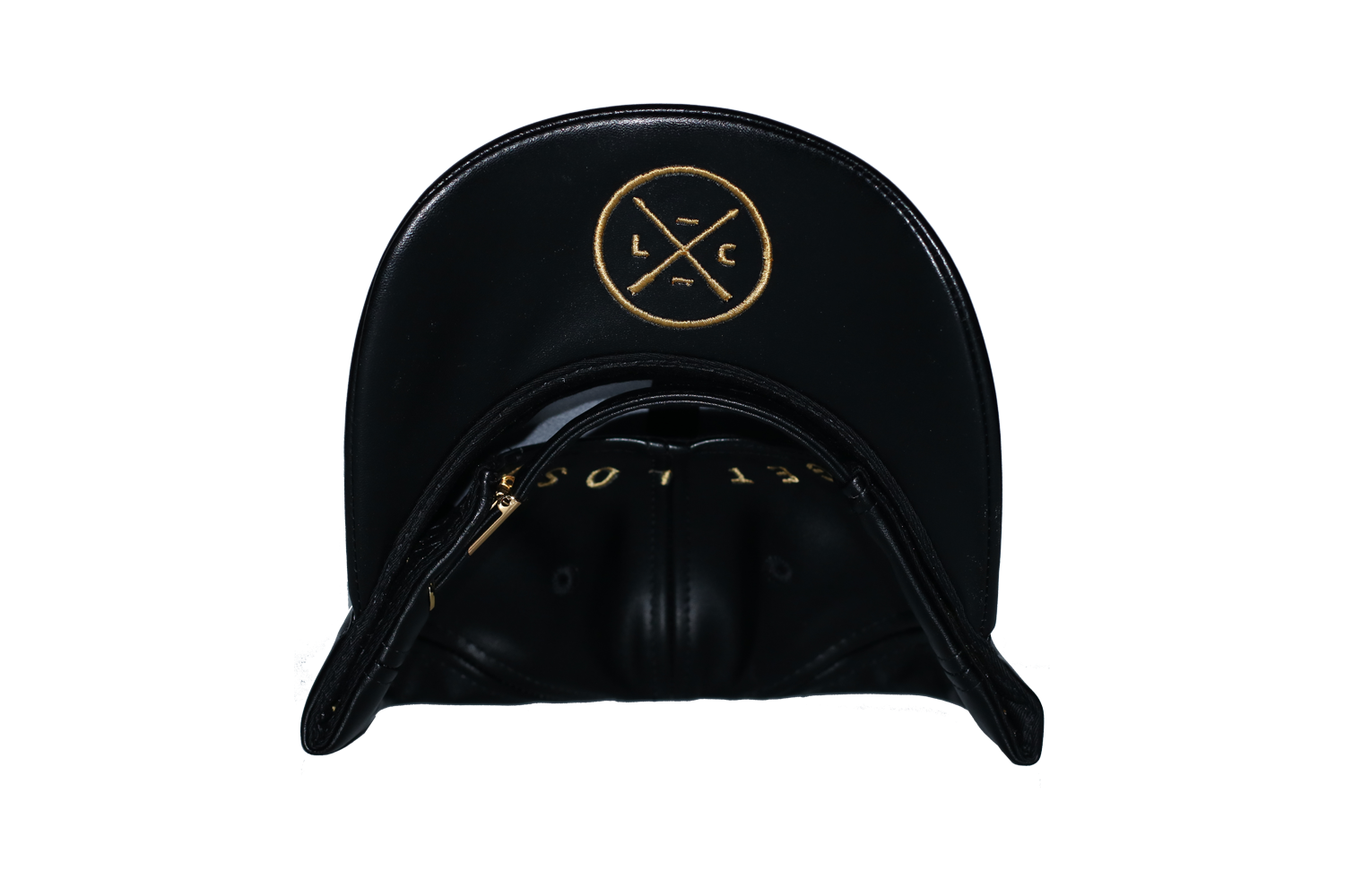 TOTAL LEATHER STRAPBACK