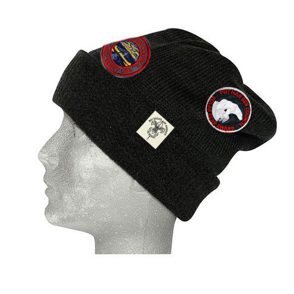 Liberty X Boy Scouts of America ®, Black Slouchie Beanie with patches