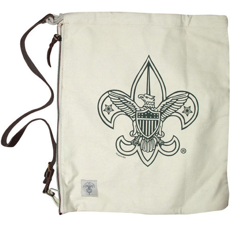 Liberty X Boy Scouts of America ®, Day Trippin' Bag, Scout Logo, Natural