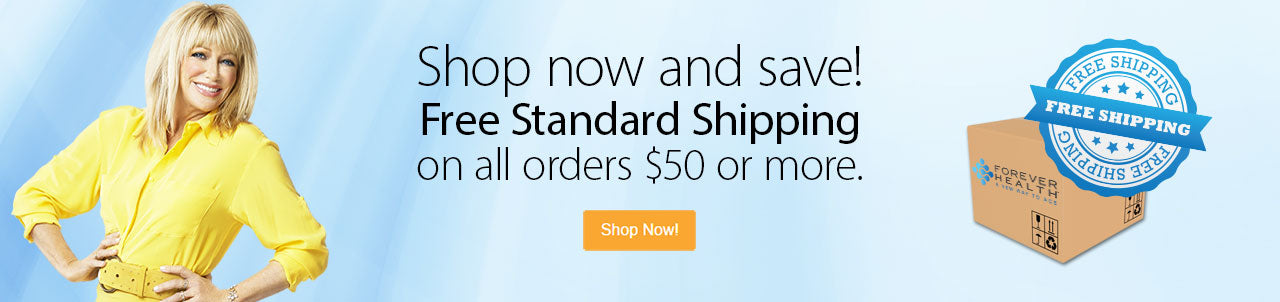 Free Standard Shipping on orders $50 or more