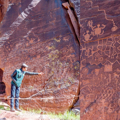 'A' Monthly Presentation on the Ancient Rock Art of Sedona - Love Africa Decor & Gallery  - 1