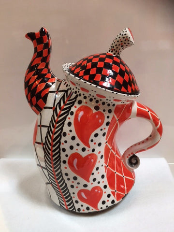 Whimsical Tea Pot - 1