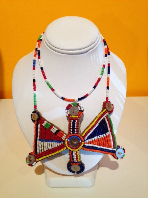 Warriors Necklace from Kenya - Love Africa Decor & Gallery