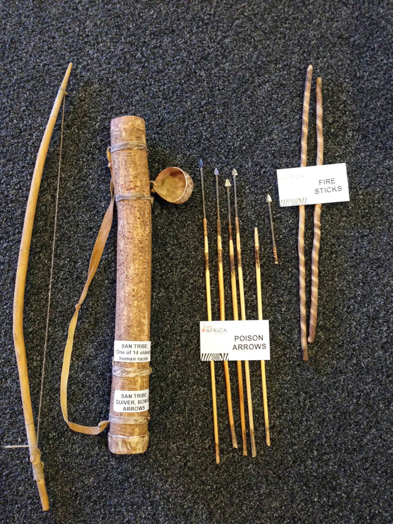 Bushmen Hunting Kit - Love Africa Decor & Gallery  - 1