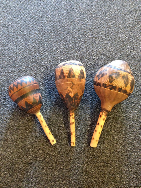 Shakers & Rattles - African Gourds - Love Africa Decor & Gallery  - 1