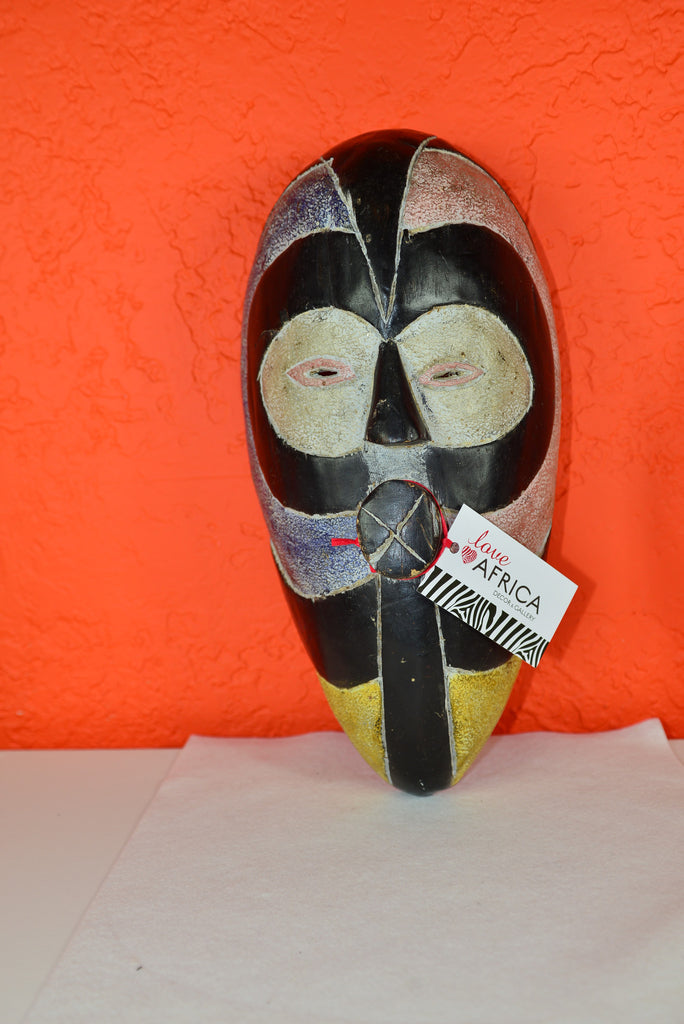Dan Mask - Love Africa Decor & Gallery