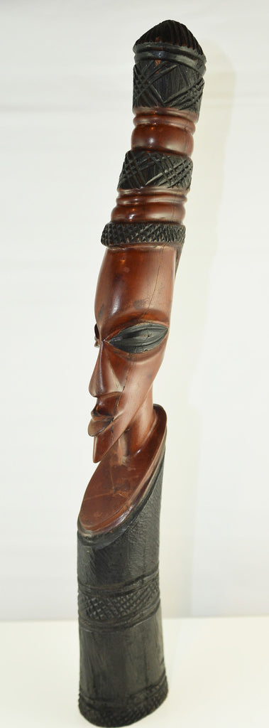 Wooden African Carving Bust - 1 - Love Africa Decor & Gallery  - 1