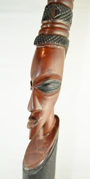 Wooden African Carving Bust - 1 - Love Africa Decor & Gallery  - 2