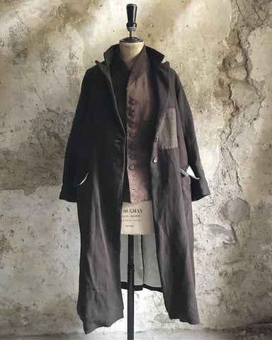 Limited edition, patched, Poacher's Coat