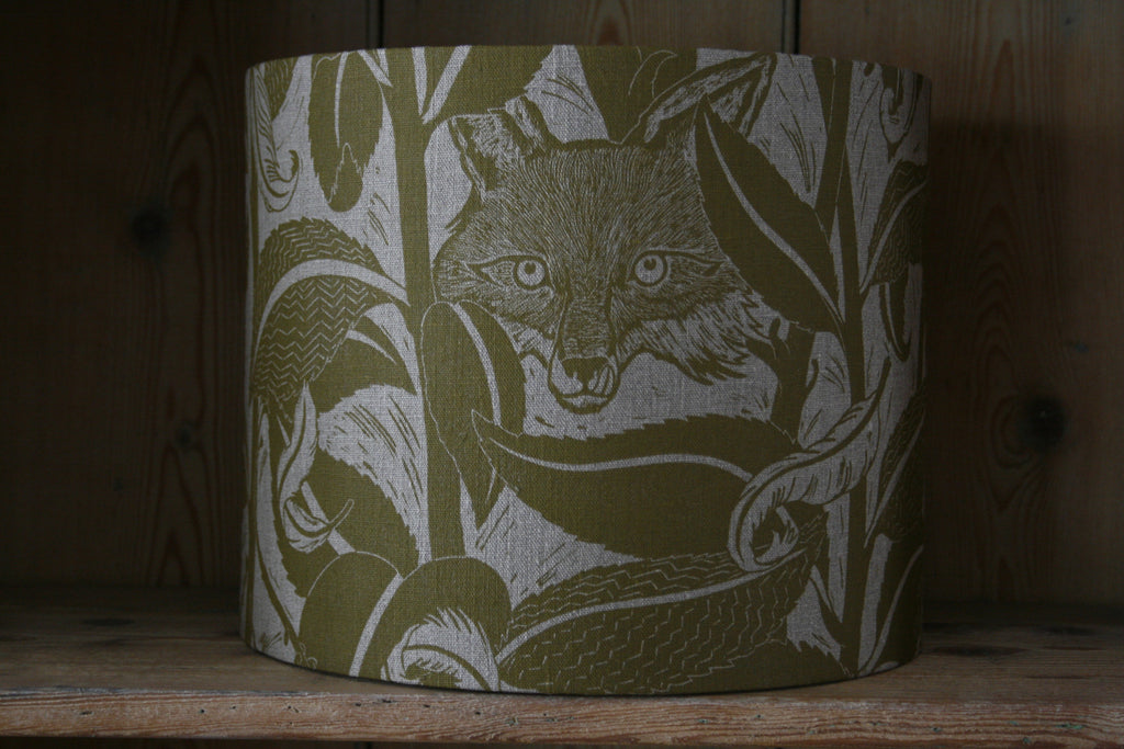 'Varx' drum lampshade