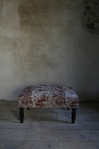 'Bloodlines' large antique stool
