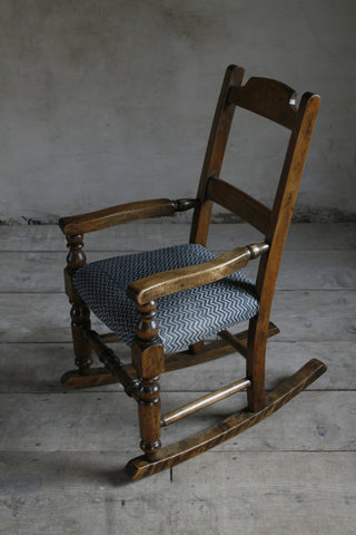 'Lyme Bay' child's rocking chair