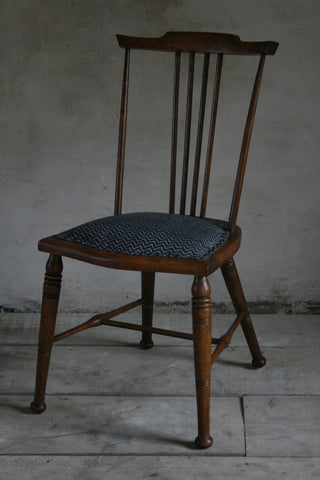 'Lyme Bay' Arts & Crafts spindle back chair