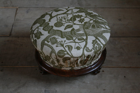 'Treasure Tree' antique 'top hat' footstool