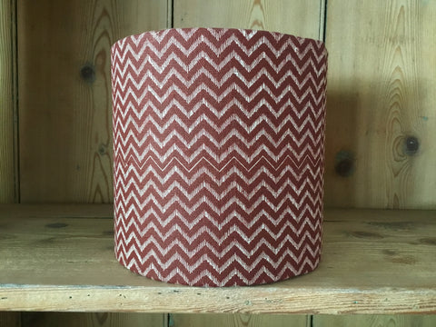 'Lyme Bay' drum lampshade (small)
