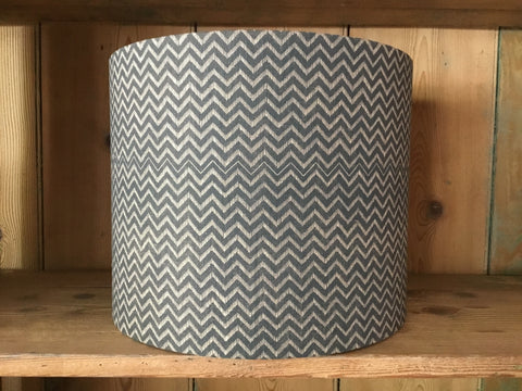 'Lyme Bay' drum lampshade