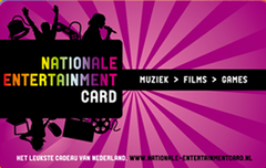 Nationale Entertainment cards met korting