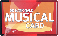 Nationale Musical Cards met korting