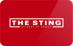 The Sting giftcards met korting