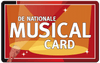 Nationale Musical Card kortingscode? De Nationale Musical Cards met korting!
